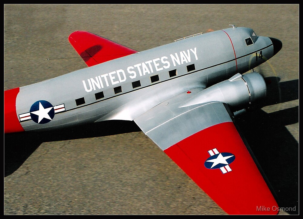 """R/C Model series #2 - """"NAVY"""" (Old faithful) by MikeO"""