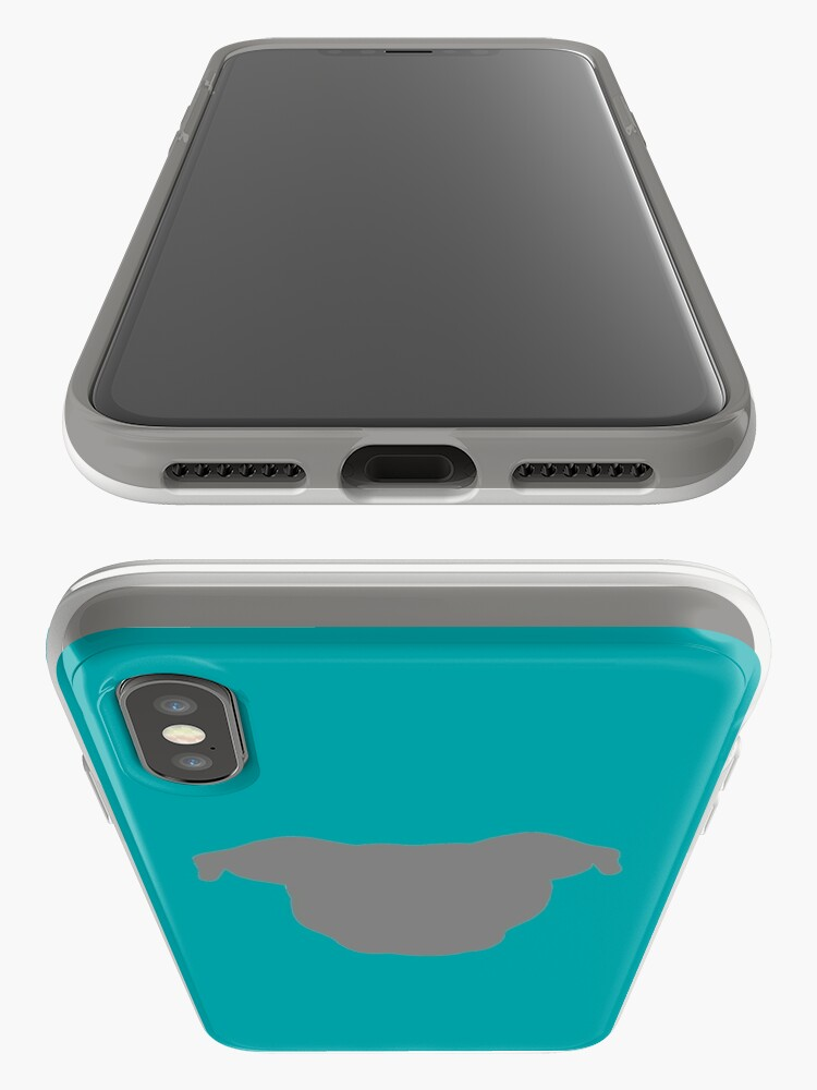 Alternate view of Grey Pittie iPhone Case & Cover
