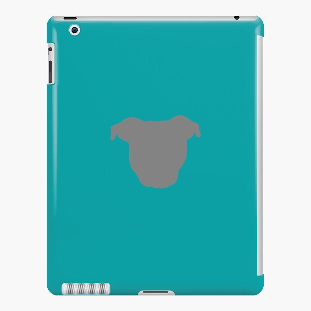Grey Pittie iPad Case & Skin