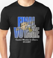 Cassini Final Voyage Grand Finale NASA Space Mission to Saturn T-Shirt