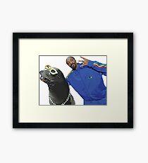 Lámina enmarcada Snoop Dogg