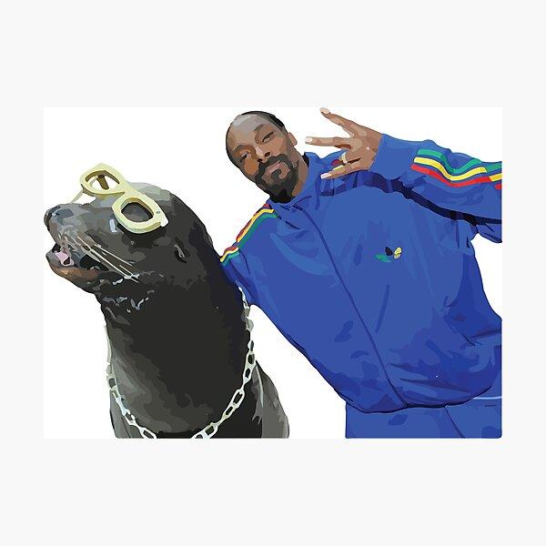 Snoop Dogg Photographic Print
