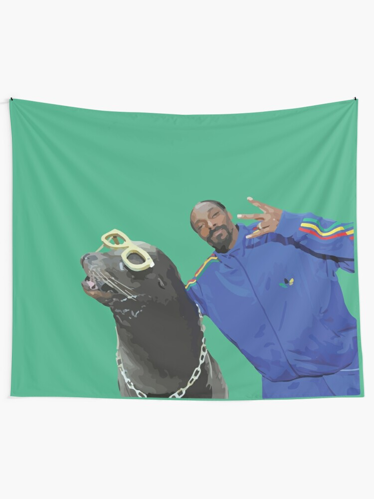 Alternate view of Snoop Dogg Tapestry