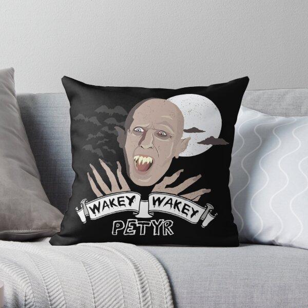 Wakey Wakey Petyr Throw Pillow
