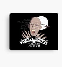 Wakey Wakey Petyr Canvas Print