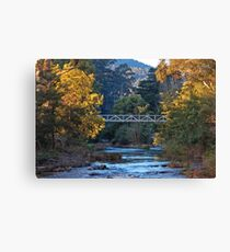 The Yarra River at Warburton Canvas Print