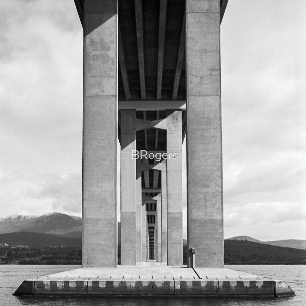 Beneath the Tasman Bridge by BRogers