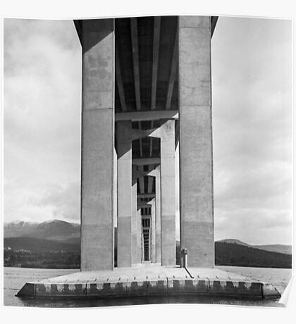 Beneath the Tasman Bridge Poster