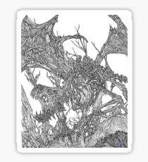 Bone Dragon Sticker