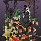 Spider Fairy Halloween Tarantula Witch by Alison Spokes