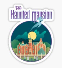 The Haunted Mansion Sticker
