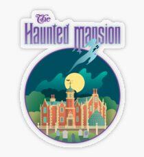 The Haunted Mansion Transparent Sticker