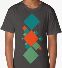Abstract Squares Long T-Shirt