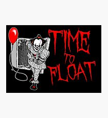 Time To Float Photographic Print