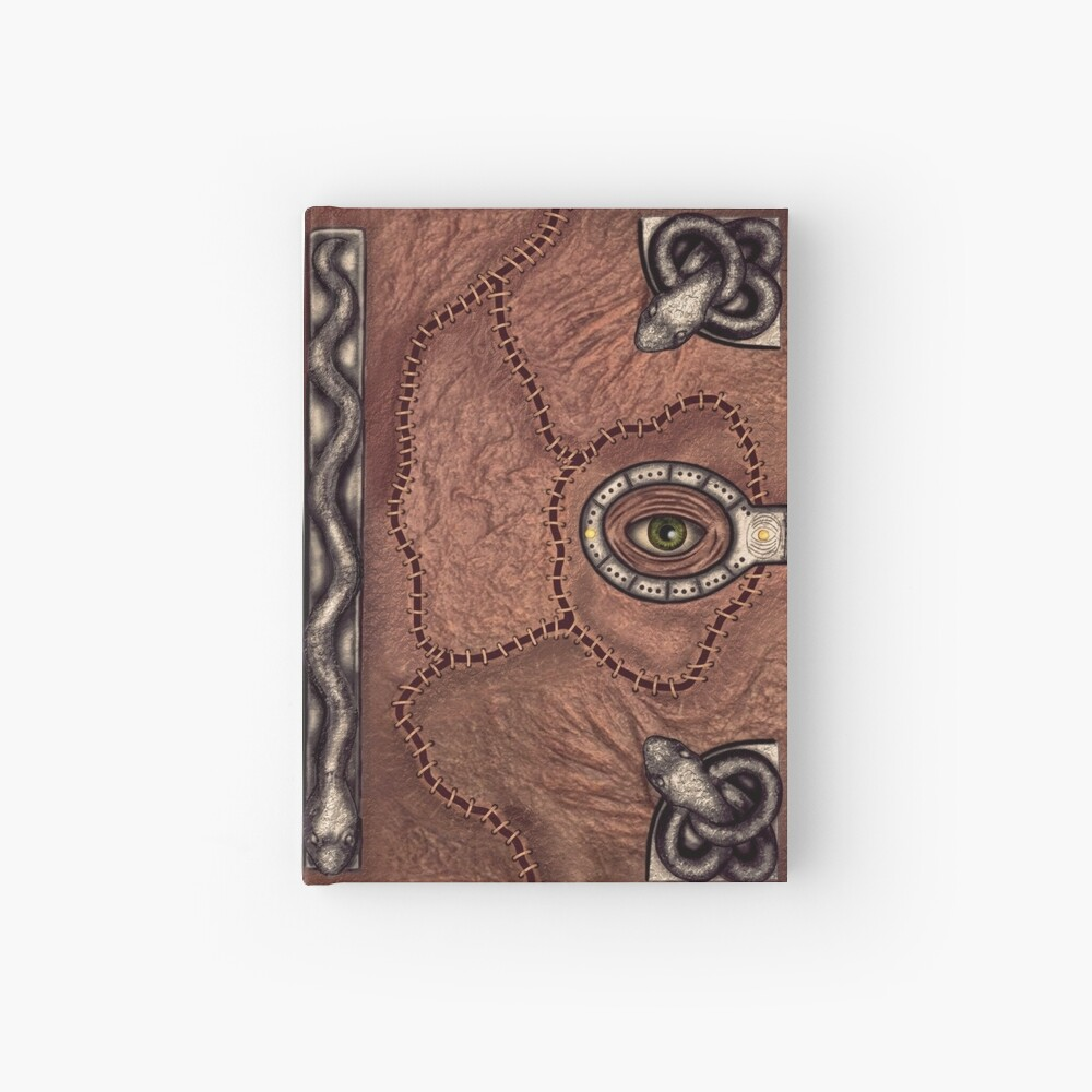 The spell book Hardcover Journal