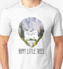 Bob Ross- happy little trees (CHECK DESCRIPTION) T-Shirt