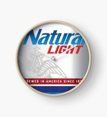 Natty Light Clock