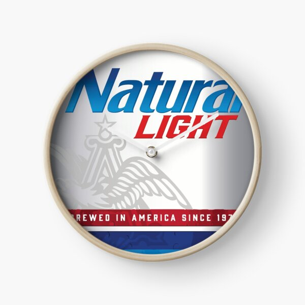 Natty Light Clock