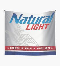 Natty Light Wall Tapestry