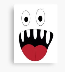Silly Monster Canvas Print