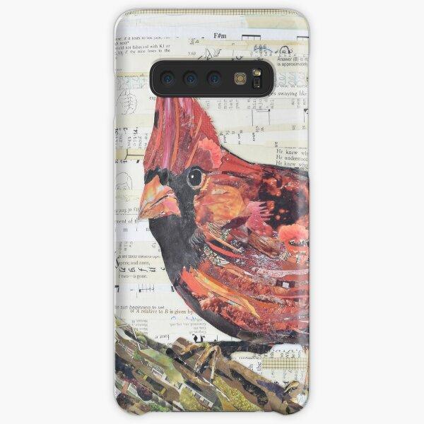 Cardinal Collage by C.E. White - Red Bird Samsung Galaxy Snap Case