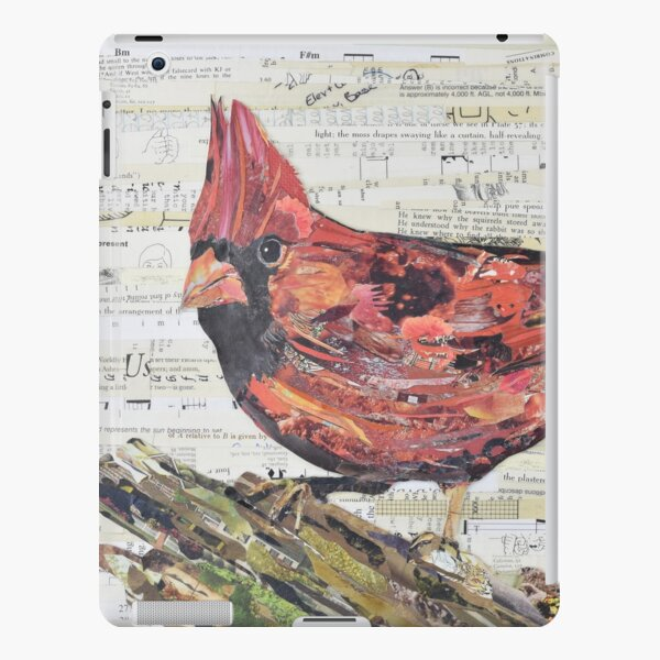 Cardinal Collage by C.E. White - Red Bird iPad Snap Case