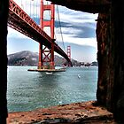 A Golden Gate View by Barbara  Brown