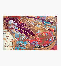 Abstract touches Photographic Print
