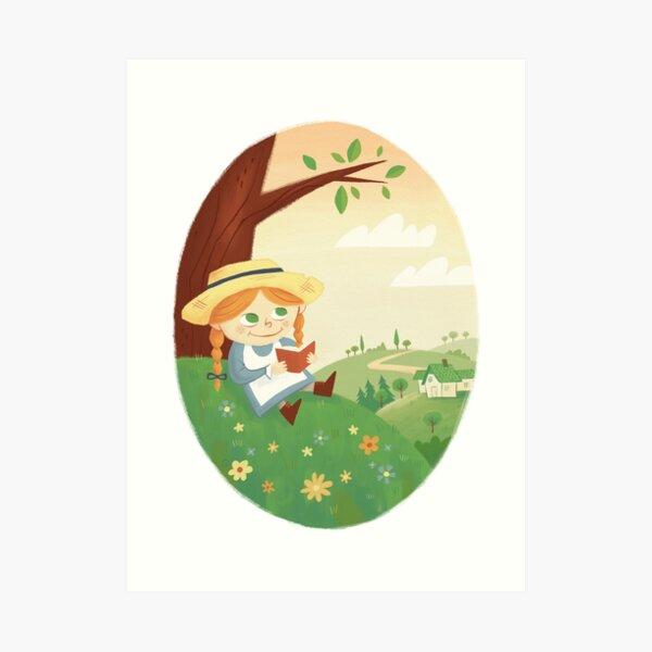 Anne of Green Gables Art Print