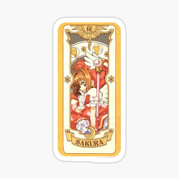 Sakura Kinomoto Card - CardCaptor Sakura Sticker