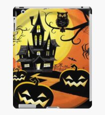 Haunted Night Halloween Party iPad Case/Skin