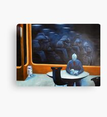The Autobot-mat Canvas Print