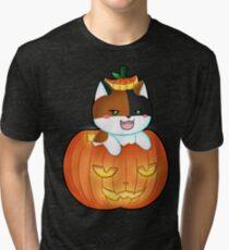 Lita Pumpkin Tri-blend T-Shirt