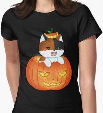 Lita Pumpkin Women's Fitted T-Shirt