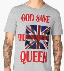 GOD THE QUEEN ENGLAND  Men's Premium T-Shirt