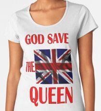 GOD THE QUEEN ENGLAND  Women's Premium T-Shirt