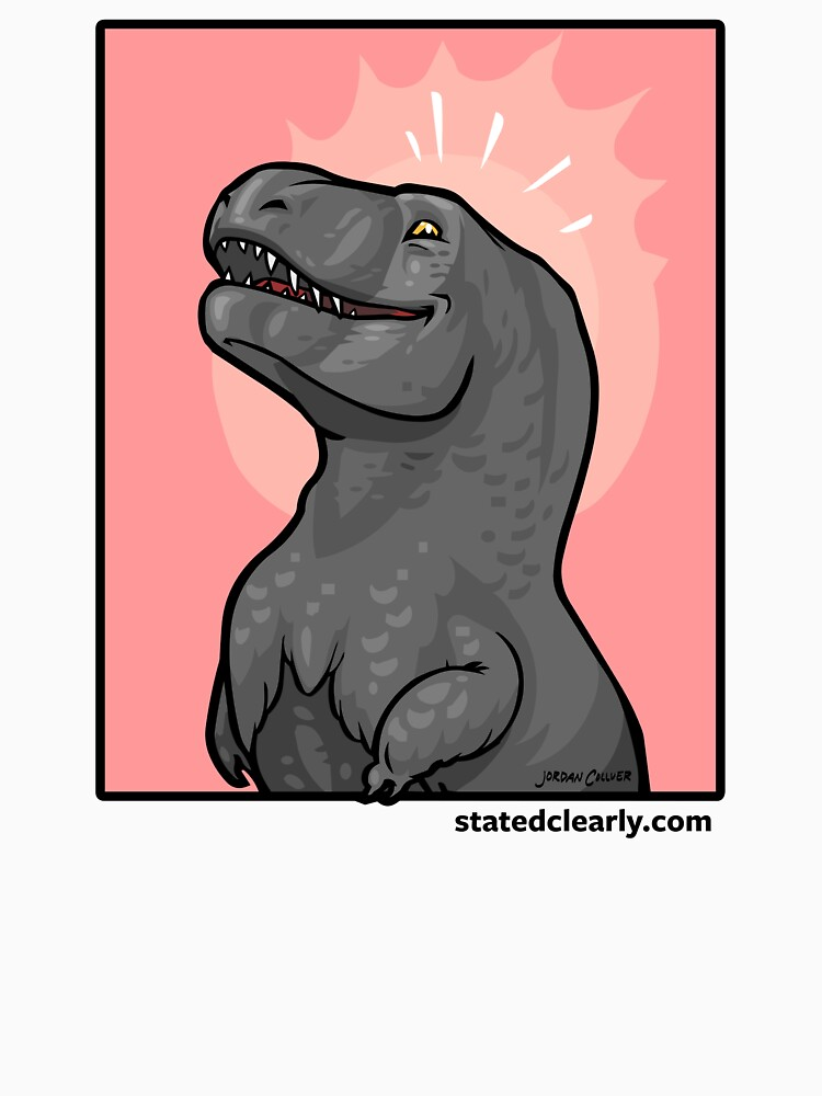 Gloating T. rex!  by statedclearly