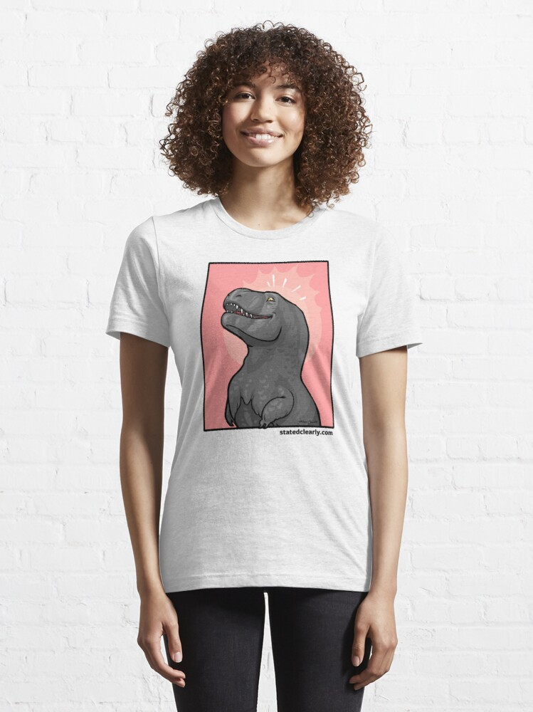 Alternate view of Gloating T. rex!  Essential T-Shirt