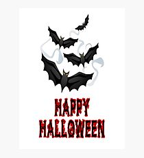 halloween bats 2 Photographic Print
