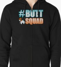 #ButtSquad Zipped Hoodie