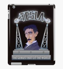 Tesla -The Genius That Lit The World iPad Case/Skin