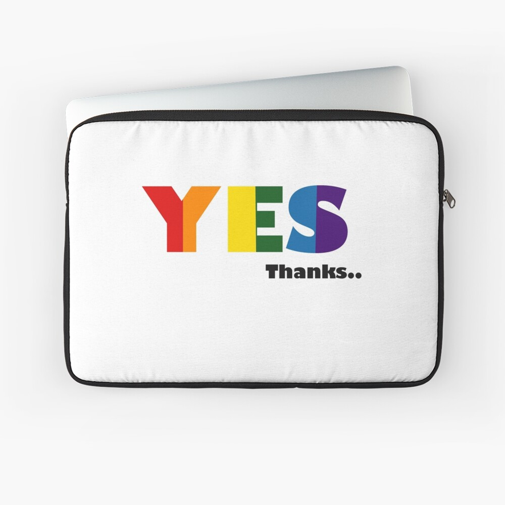 Vote YES Laptop Sleeve