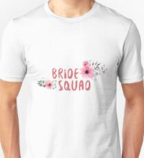 Bride Squad Bachelorette Party Funny Gift wedding T-Shirt