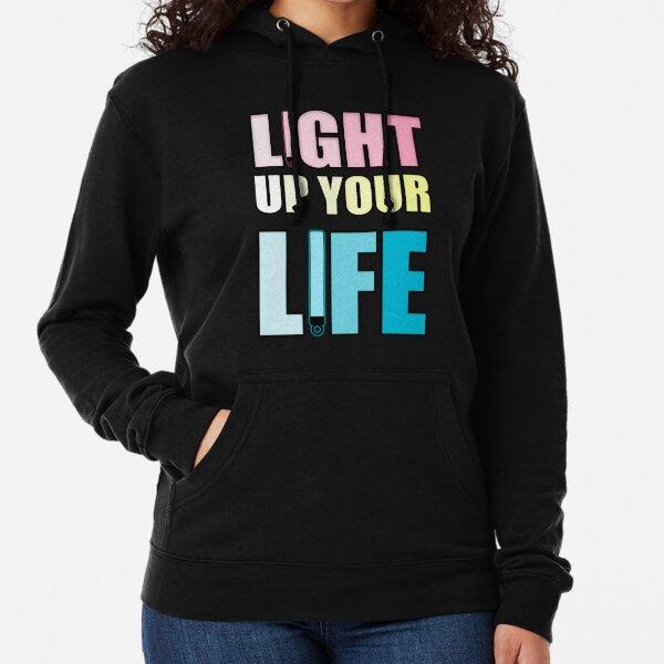 Light Up Your Life Lightweight Hoodie