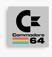 Commodore 64 Logo Canvas Print