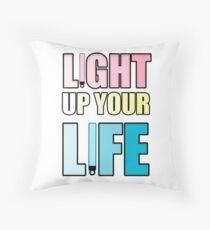 Light Up Your Life Throw Pillow