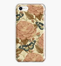 Vintage Garden 33 iPhone Case/Skin