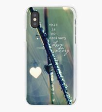 No Ordinary Love Story iPhone Case