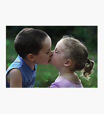 Sweetest Kiss Photographic Print
