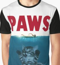 JAWS / PAWS Graphic T-Shirt